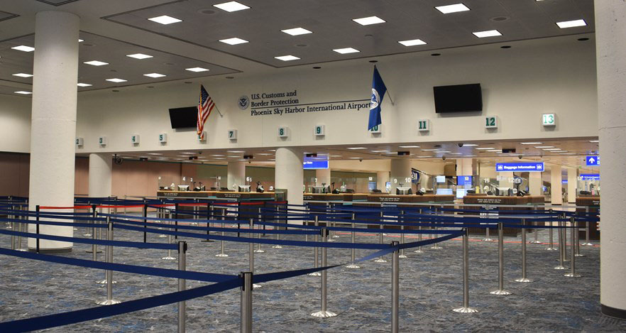 PHX Terminal 4 Concourse 4 North (T4N4) Federal Inspection Station (FIS)